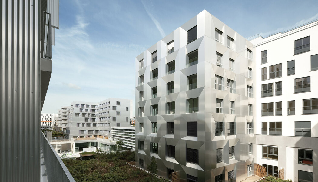XS 68 Windows and CF 77 Sliding Systems - Apartmentcomplex Macdonald warehouse - Lot N5 and S6 located in Paris, France