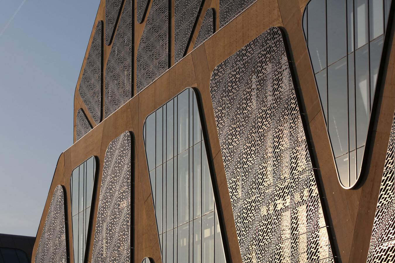 CW 50 Curtain Walls - Palace of justice/Court Court of Justice Building The Hasselaar located in Hasselt, Belgium